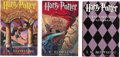 Books:First Editions, J.K. Rowling. Harry Potter and the: Sorcerer's Stone; Chamber ofSecrets; Prisoner of Azkaban. [New York]: Arthur A....
