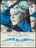 "Movie Posters:Drama, The Sailor From Gibraltar (Les Artistes Associes, 1967). French Affiche (23.5"" X 31.5""). Drama.. ..."