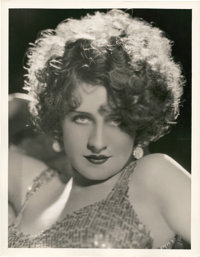 "Norma Shearer in ""Strangers May Kiss"" by George Hurrell (MGM, 1931). Portrait Still (10"" X 13"")"
