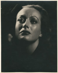 "Joan Crawford in ""Rain"" (United Artists, 1932). Portrait (10.75"" X 13.5"")"