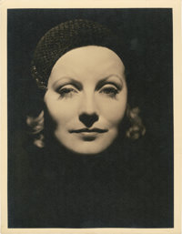 "Greta Garbo in ""Inspiration"" by Clarence Sinclair Bull (MGM, 1931). Portrait (10"" X 13"")"