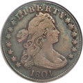 Early Quarters, 1804 25C VF20 PCGS. CAC....