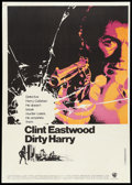 "Movie Posters:Crime, Dirty Harry (Warner Brothers, 1971). Canadian One Sheet (27"" X38.5""). Crime.. ..."