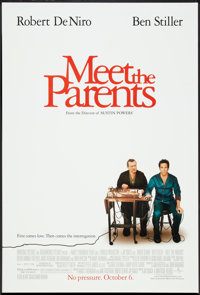 "Meet the Parents Lot (Universal, 2000). One Sheets (4) (27"" X 41"") DS Regular and Advances Styles A and B. Com..."