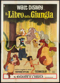 "Movie Posters:Animated, The Jungle Book (DCI, 1968). Italian 4 - Folio (55"" X 78"").Animated.. ..."