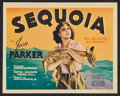 "Movie Posters:Action, Sequoia (MGM, 1934). Title Lobby Card and Lobby Card (11"" X 14"").Action.. ... (Total: 2 Items)"