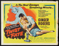 "Movie Posters:Mystery, Twist of Fate (United Artists, 1954). Half Sheet (22"" X 28"") StyleA. Mystery.. ..."