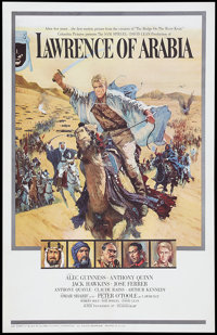 "Lawrence of Arabia (Columbia, 1963). One Sheet (27"" X 41"") Style A. War"