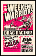 """Movie Posters:Sports, The Weekend Warriors (Champion, 1966). One Sheet (28"""" X 44"""").. ..."""