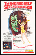 Movie Posters:Cult Classic, The Incredibly Strange Creatures Who Stopped Living and BecameMixed-Up Zombies (Fairway International, 1967). One Sheet (27...