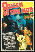 "Movie Posters:Crime, Queen of the Mob (Paramount, 1940). One Sheet (27"" X 41"").. ..."