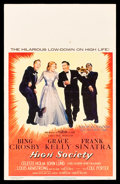 "Movie Posters:Musical, High Society (MGM, 1956). Window Card (14"" X 22"").. ..."