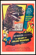 "Movie Posters:Science Fiction, The Beast of Hollow Mountain (United Artists, 1956). One Sheet (27""X 41"").. ..."