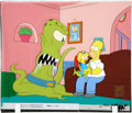"Movie/TV Memorabilia:Original Art, The Simpsons ""Treehouse of Horror IX"" Original ProductionCel...."