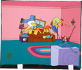 Movie/TV Memorabilia:Original Art, The Simpsons Opening Credits Original Production Cel....
