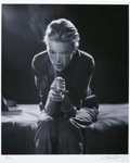 Music Memorabilia:Photos, David Bowie Photo Portrait by Tom Kelley....