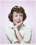 Movie/TV Memorabilia:Photos, Imogene Coca Photo Portrait by Tom Kelley....