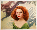 Movie/TV Memorabilia:Photos, Maureen O'Hara Photo Portrait by Tom Kelley....
