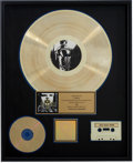 Music Memorabilia:Awards, Queensrÿche Operation: Mindcrime RIAA Gold Album Award....