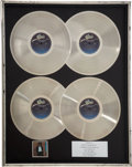 Music Memorabilia:Awards, Michael Jackson Off the Wall In-House Multi-Platinum SalesAward to Mayor Tom Bradley....