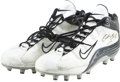 Football Collectibles:Others, 2003 Cedric Benson University of Texas Game Worn & Signed Cleats. ...