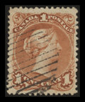 Stamps, 1c Brown Red, Bothwell Paper (22var),...