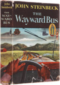 Books:Signed Editions, John Steinbeck. The Wayward Bus. New York: Viking Press,1947.. Association copy of the first edition, inscr...