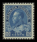 Stamps, 10c Blue, Wet Printing (117),...