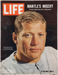 Baseball Collectibles:Publications, 1965 Life Magazine with Mickey Mantle on Cover. ...