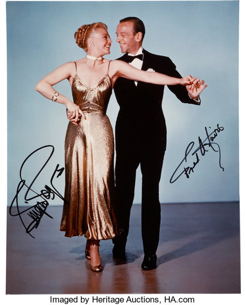 Fred Astaire And Ginger Rogers Signed Photo Movie Tv Lot 50131 Heritage Auctions