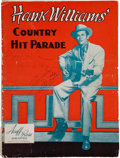 Music Memorabilia:Autographs and Signed Items, Hank Williams and Big Bill Lister Signed Sheet Music Book....