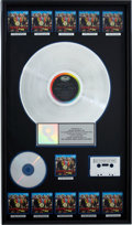 Music Memorabilia:Awards, The Beatles Sgt. Pepper's Lonely Hearts Club Band RIAAMulti-Platinum Award....