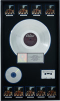 Music Memorabilia:Awards, The Beatles Abbey Road RIAA Multi-Platinum Album Award....
