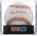Autographs:Baseballs, Stan Musial Single Signed Baseball PSA Mint+ 9.5. ...