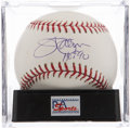 Autographs:Baseballs, Jim Palmer Single Signed Baseball PSA Mint+ 9.5....