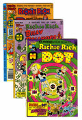 Modern Age (1980-Present):Humor, Richie Rich Related Titles - File Copy Group (Harvey, 1970s-80s)Condition: Average NM-.... (Total: 44 Comic Books)