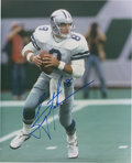 Football Collectibles:Photos, Troy Aikman Signed Photograph. ...