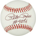 Autographs:Baseballs, Baseball Hall of Famers Single Signed Baseballs Lot of 4. ...(Total: 4 items)