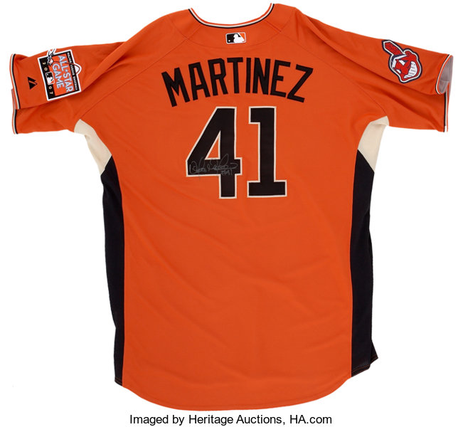 release date: 271e2 c1ac2 2007 Victor Martinez Signed All-Star Practice Jersey ...