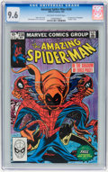 Modern Age (1980-Present):Superhero, The Amazing Spider-Man #238 (Marvel, 1983) CGC NM+ 9.6 Off-white towhite pages....