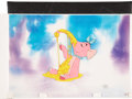 "Movie/TV Memorabilia:Original Art, ""Winnie the Pooh and the Blustery Day"" Original Production Cel...."