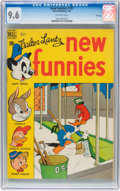Golden Age (1938-1955):Cartoon Character, New Funnies #137 File Copy (Dell, 1948) CGC NM+ 9.6 Off-white pages....