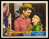 "King Solomon's Mines (Gaumont, 1937). Lobby Cards (6) (11"" X 14""). ... (Total: 6 Items)"