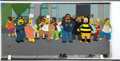 Movie/TV Memorabilia:Original Art, The Simpsons Panning Shot Original Production Cels....