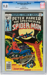 Spectacular Spider-Man #6 (Marvel, 1977) CGC NM/MT 9.8 White pages
