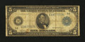 Fr. 862 $5 1914 Federal Reserve Note Good-Very Good