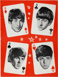 Music Memorabilia:Posters, Beatles 1964 British Tour Program (Arthur Howes & BrainEpstein, 1964)....