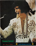 Music Memorabilia:Photos, Elvis Las Vegas Hilton Summer Festival Special Invitation(1974)....