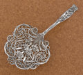 Silver Flatware, American:Whiting, AN AMERICAN SILVER SARATOGA CHIP SERVER. Whiting ManufacturingCompany, New York, New York, circa 1900. Marks: (griffin with...