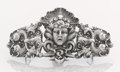 Silver Smalls:Buckles, AN AMERICAN SILVER BELT BUCKLE. William B. Kerr & Co., Newark,New Jersey, circa 1875. Marks: (fasces), STERLING, 554. 2...(Total: 2 Items)
